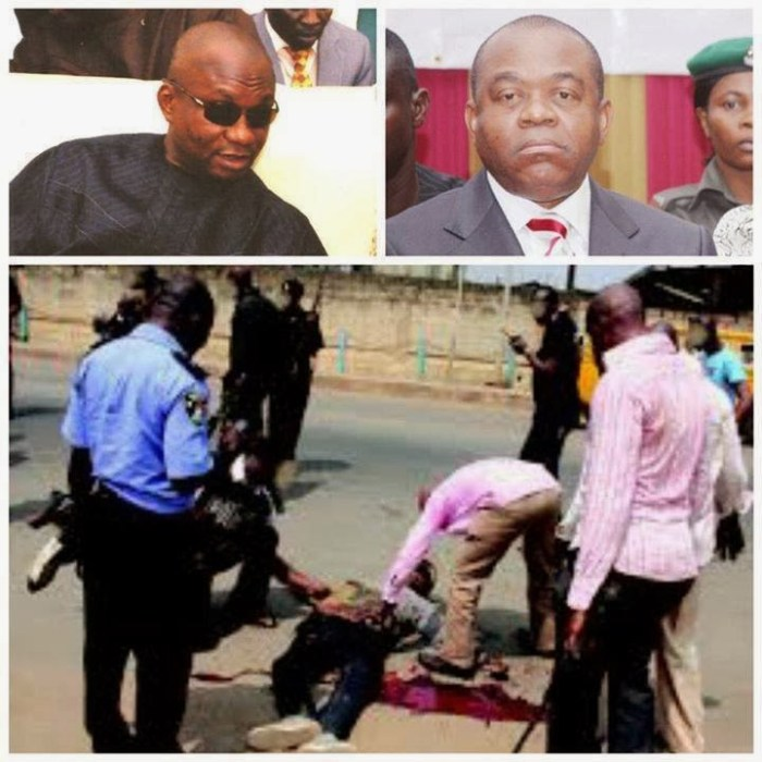 Abia Governors son kills boy