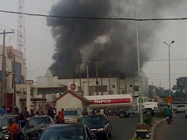 Fire Guts Zenith Bank Ibadan The Trent Facebook