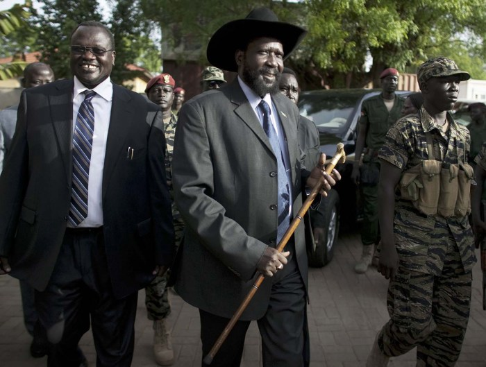South Sudan's President Salva Kirr