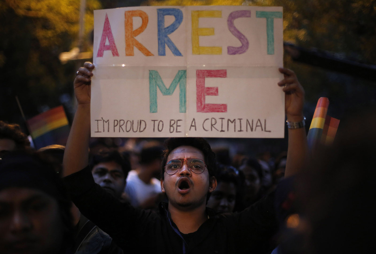 Indias Gay Community Protest As Supreme Court