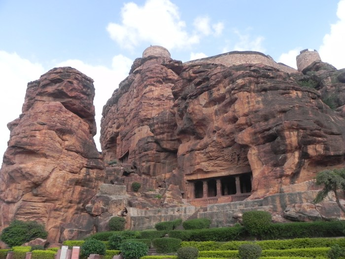 Badami Cave Temple Karnataka, India The fifth cave in the complex is used as a Buddhist temple.