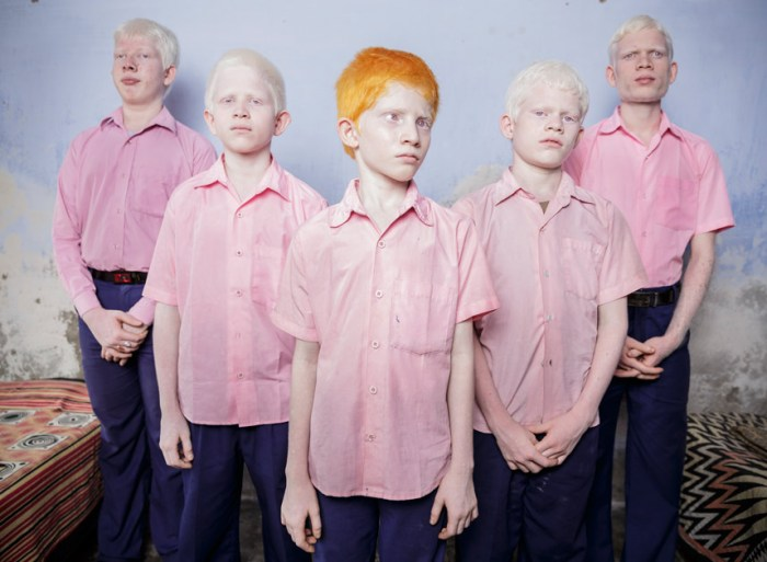 1st Prize People – Staged Portraits SingleBrent Stirton, South Africa, Reportage by Getty Images25 September 2013, West Bengal IndiaA group of blind albino boys photographed in their boarding room at the Vivekananda mission school for the blind in West Bengal, India. This is one of the very few schools for the blind in India today.Picture: BRENT STIRTON/REPORTAGE BY GETTY IMAGES