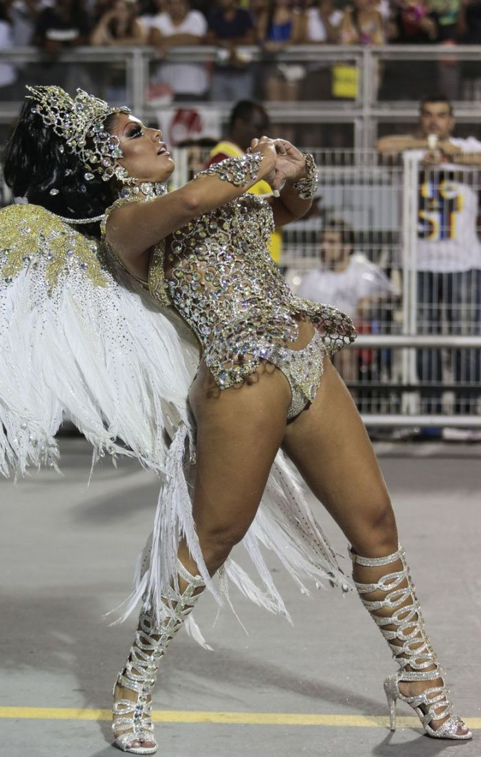 The wild excesses of Carnival are seen as a farewell to pleasures of the flesh before Lent (Photo Credit: Daily Mirror)