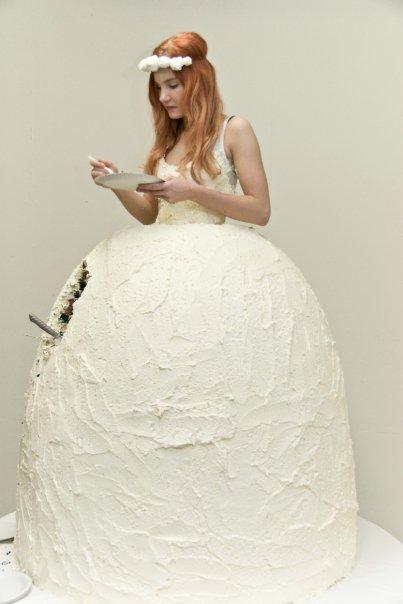 Cake-wedding-dress