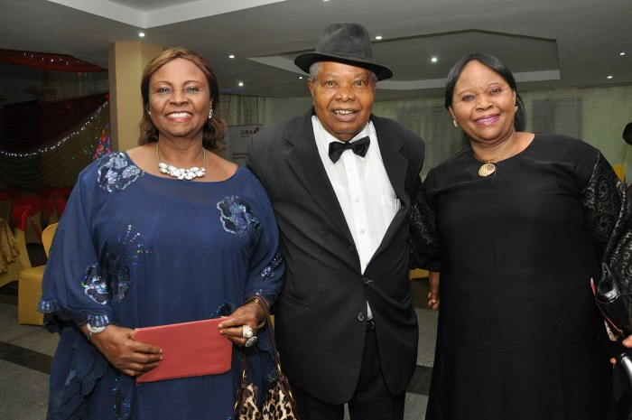 Cupid Concert 2014:  (L-R) Sir & Lady Frank Nwulu & Mrs Rose Odita at the concert which held at Lamibele Place, Asaba