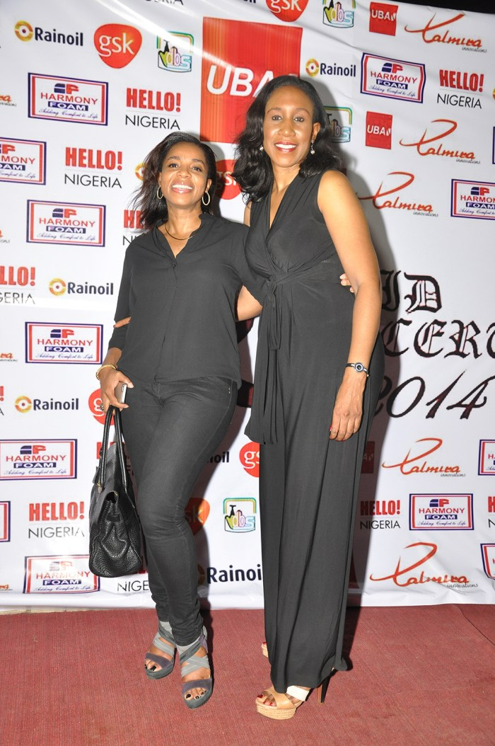 Cupid Concert 2014: Uzo Oshogwe and Anne Omezi at the concert held at Lamibele Place, Asaba over the weekend
