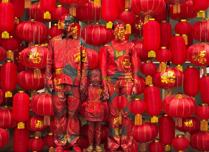 Photos Courtesy of Liu Bolin Art Studio and Eli Klein Fine Art