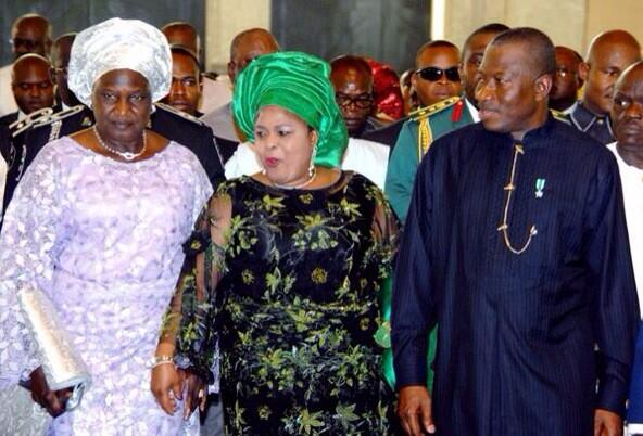 President Goodlucl Jonathan and the 1st Lady at the Interdenominational Centenary service