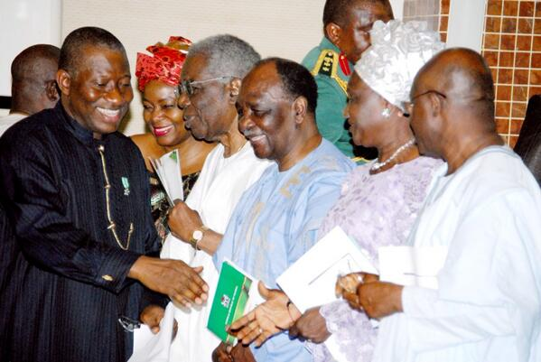 At the Centenary Anniversary Interdenominational Service in Abuja today.