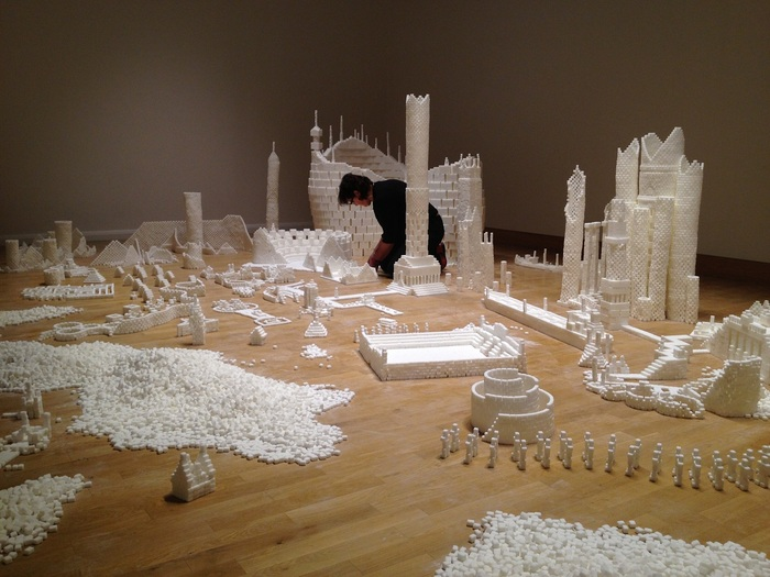 Completed version of Sugar Metropolis in Northern Ireland in November 2013 (Photo Credit: Project On Kickstarter)