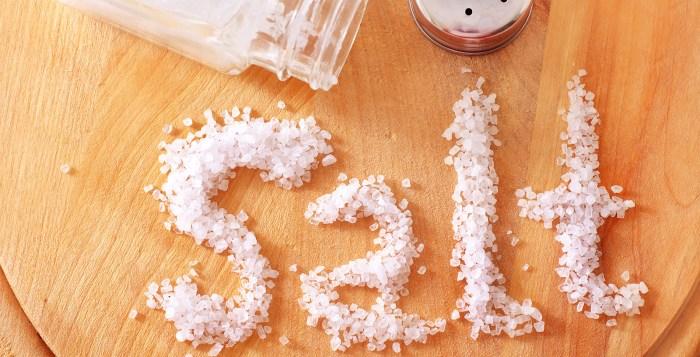food salt