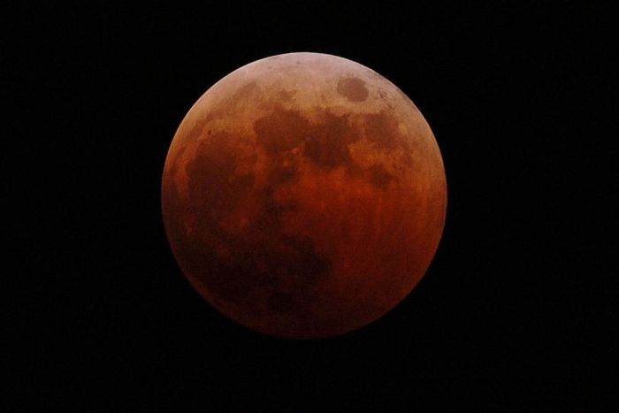 Blood Moon (Photo Credit: Getty Images)