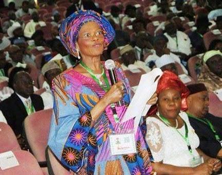 Dora Akunyili at the National Conference in April
