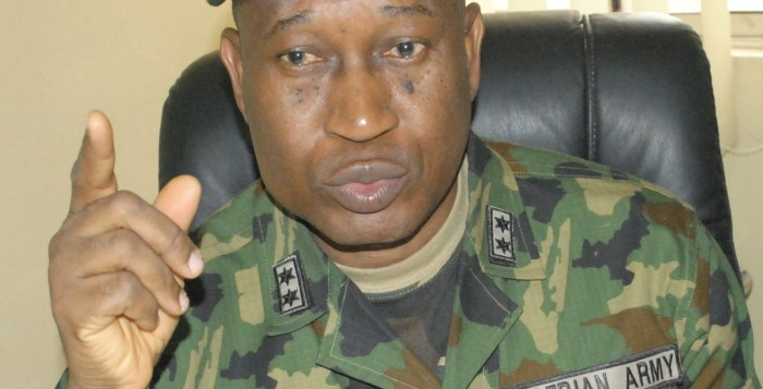 Boko Haram Nigerian Army The spokesman of the Nigeria Defence Headquarters, Maj. Gen. Chris Olukolade, on Tuesday, June 30, 2015 launched two books at the Nigeria Air Force Conference Centre.