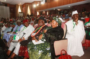 File Photo: Delegates at the National Conference, Abuja in 2014