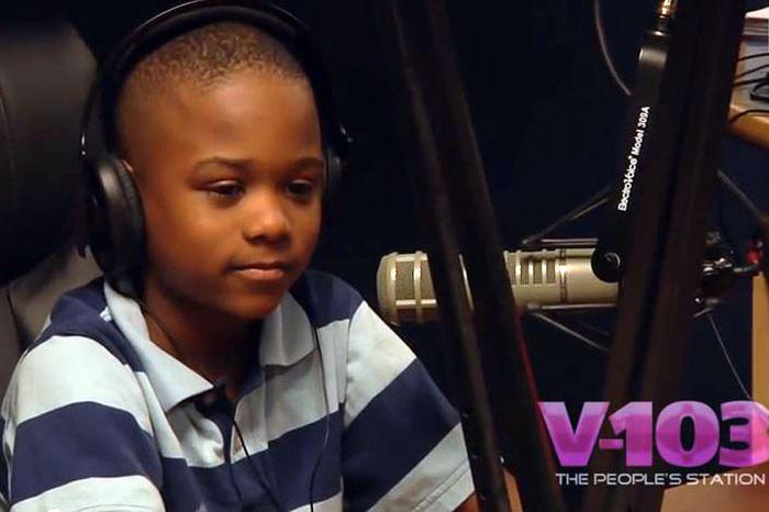 Willie Myrick pictured during a radio interview