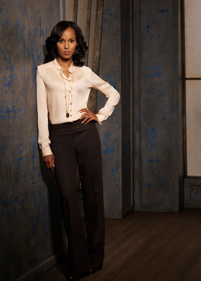 "SCANDAL - ABC's ""Scandal"" stars Kerry Washington as Olivia Pope. (Photo Credit: ABC/CRAIG SJODIN)"