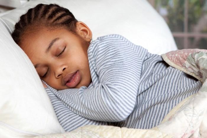sleep child