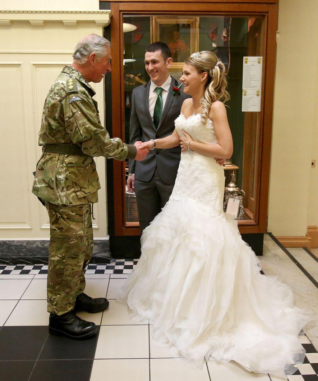 royal surprise prince charles gatecrashes couples