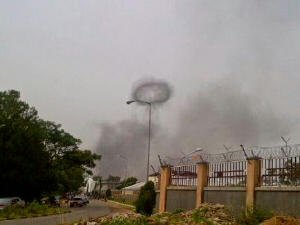 Scene of Jos bomb blast. May 20, 2014