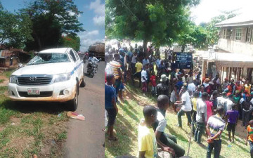 accident scene (Photo credits: Punch Nigeria)