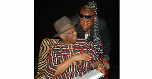 Charly boy and father