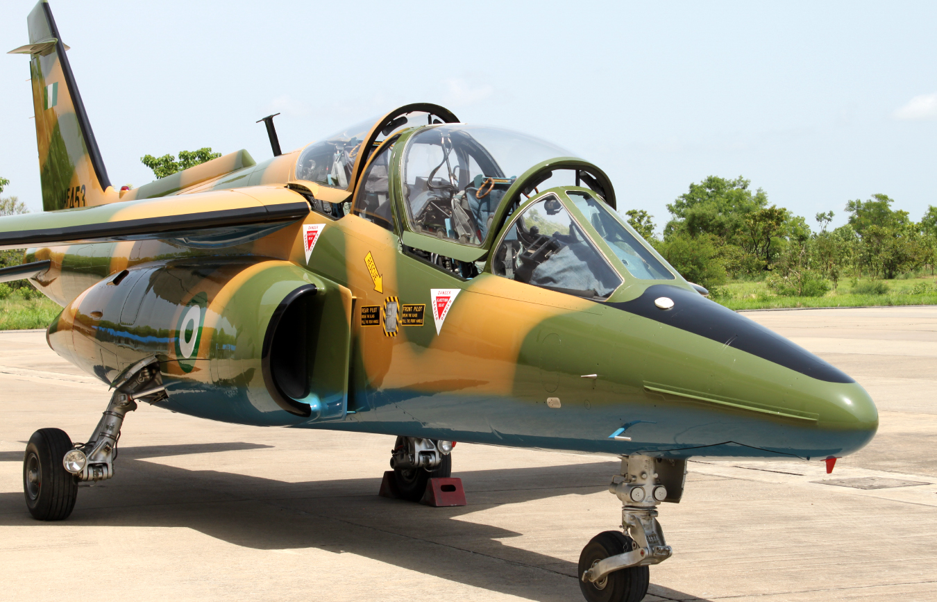 nigerian air force resume bombing of arepo creeks