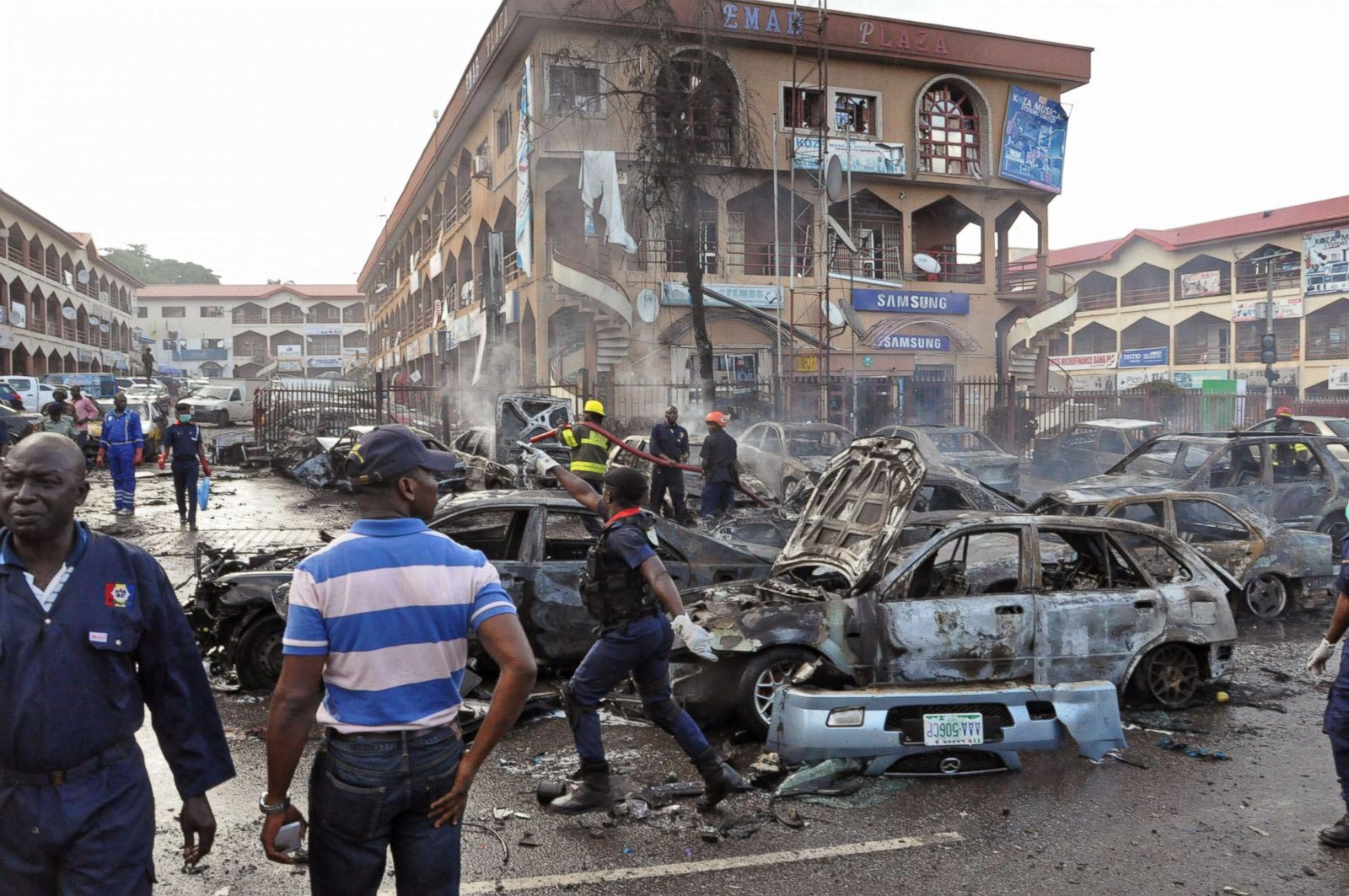 VIDEO: Eyewitness Captures The First 15 Minutes Of Abuja