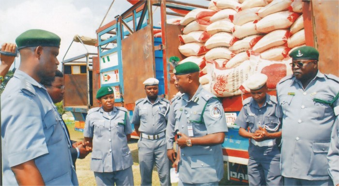 Customs Ogun Smugglers