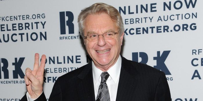 relationship advice Jerry Springer in an undated photo