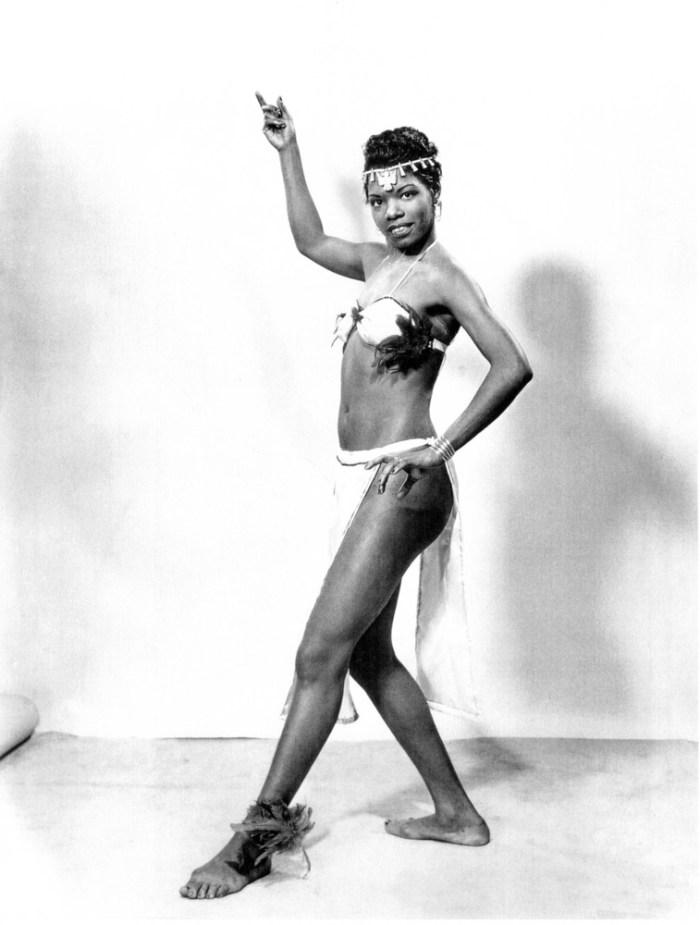 Dancing diva circa 1950s (Photo Credit: Vintage Black Glamour/Tumblr)