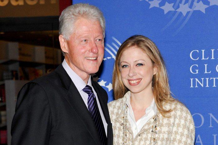 Bill Clinton and daughter (Photo Credit: Chelsea Evan Agostini /AP)