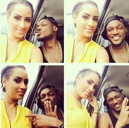 Juliet Ibrahim and 2baba