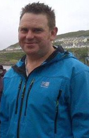 Distraught: Gary Wells, 36, was left 'unable to cope' when long-term girlfriend Diane left him last month [Photo Credit: Daily Mail]