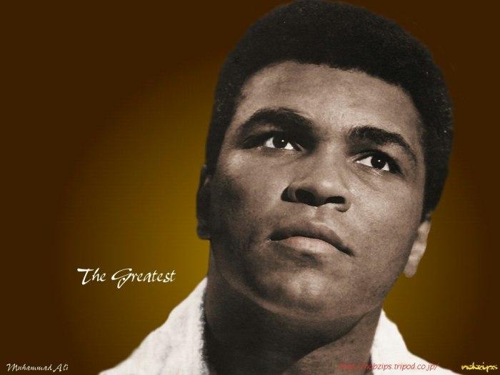 Muhammed Ali [Photo Credit: Arts Wall paper]