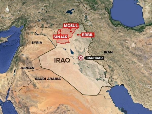The US begins a humanitarian airdrop mission in Iraq (Photo Credit)
