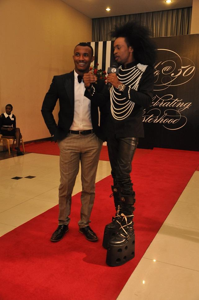 Gideon Okeke and Denrele