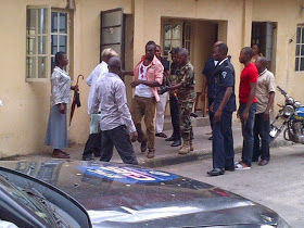 Some Officers Intervening