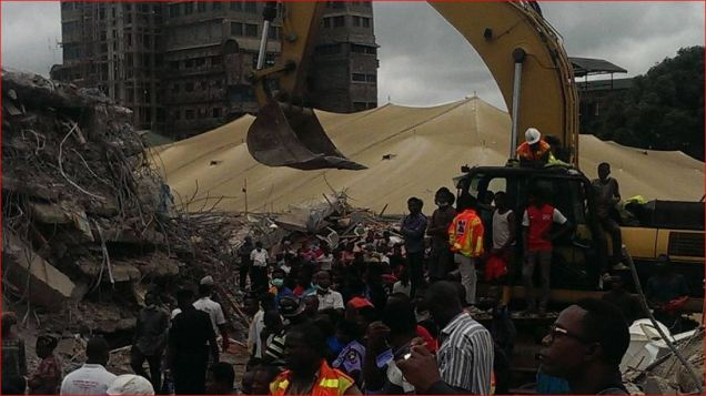 Synagogue TB Joshua SCOAN Building Collapse