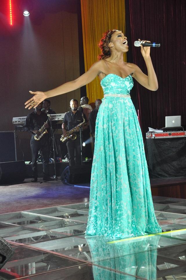 Seyi Shay performing
