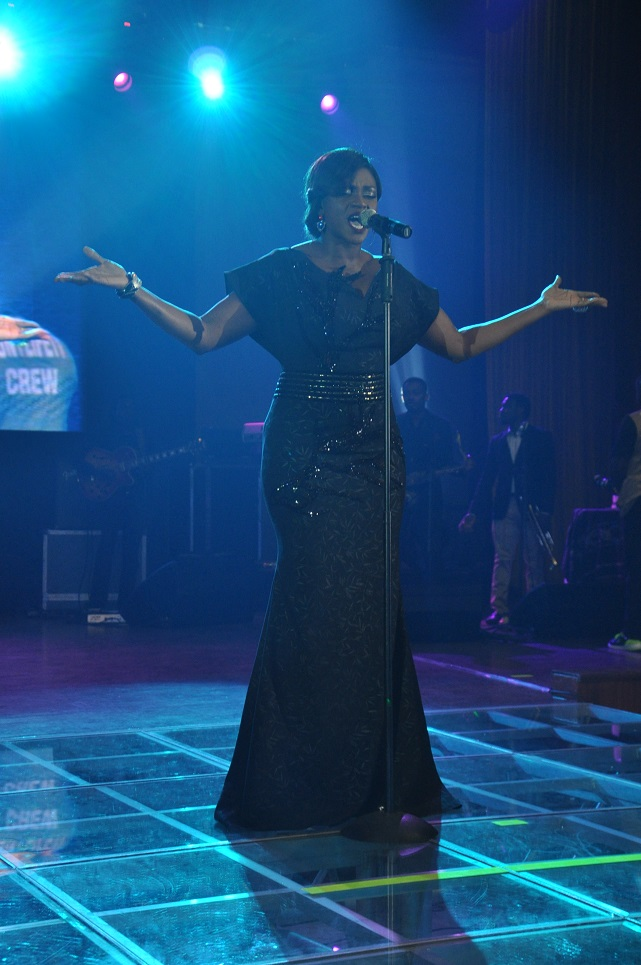 Waje performing