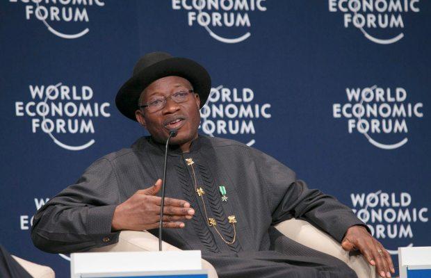 President Goodluck Jonathan visits scene of SCOAN building collapse on Saturday, September 20, 2014