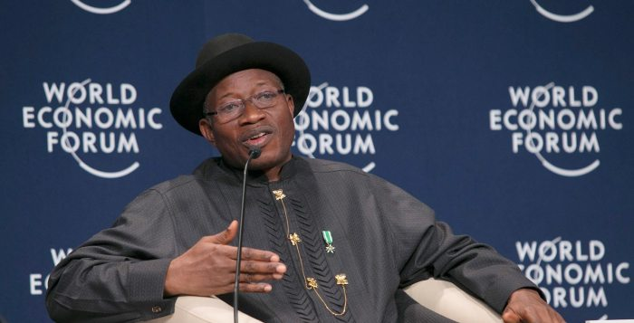 Polio President Goodluck Jonathan