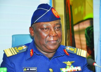 Former Chief of Defence Staff Alex Badeh