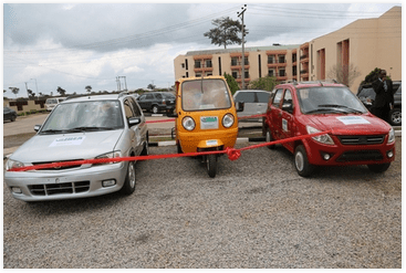 Covenant University Electric cars (Photo Credit: Covenant University)