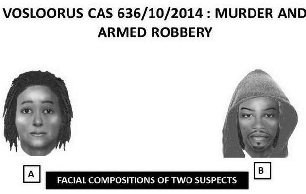 3d identikit as sketched by South African police