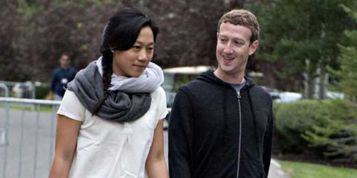 Mark zuckerberg and wife