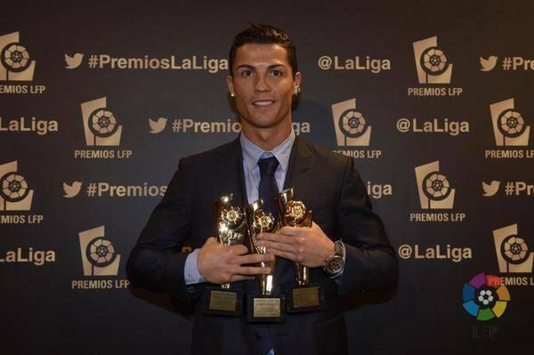 Ronaldo LFP award