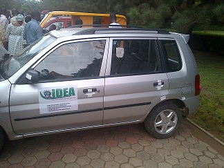 The Ash Coloured Car Constructed By Covenany University Students In Ogun State(Photo Credit:Nairaland Forum)