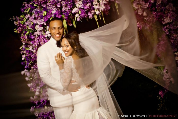 Pastor Devon Franklin with wife, actress Meagan Good    Matei Horvath Photography